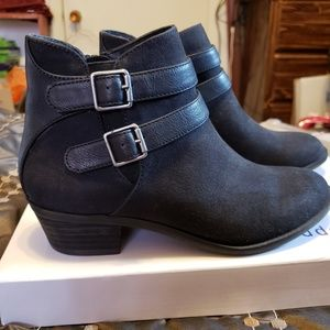 Womens Madden Girl black ankle boots, booties